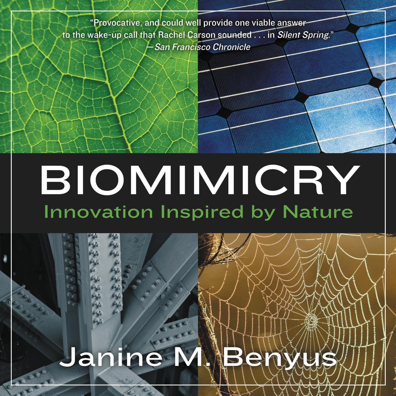 Printable Biomimicry: Innovation Inspired by Nature Audiobook Cover Art
