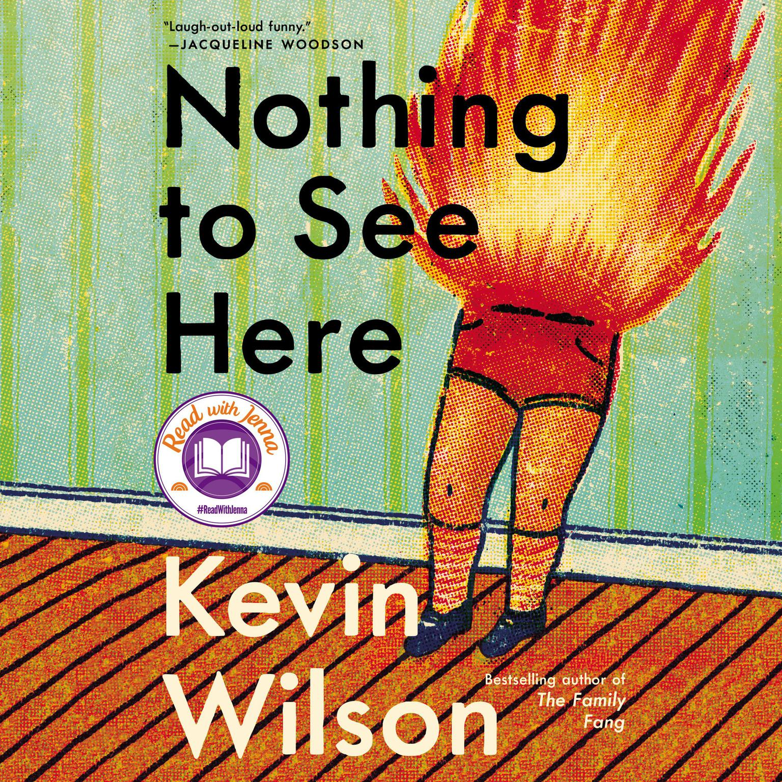 Printable Nothing to See Here Audiobook Cover Art