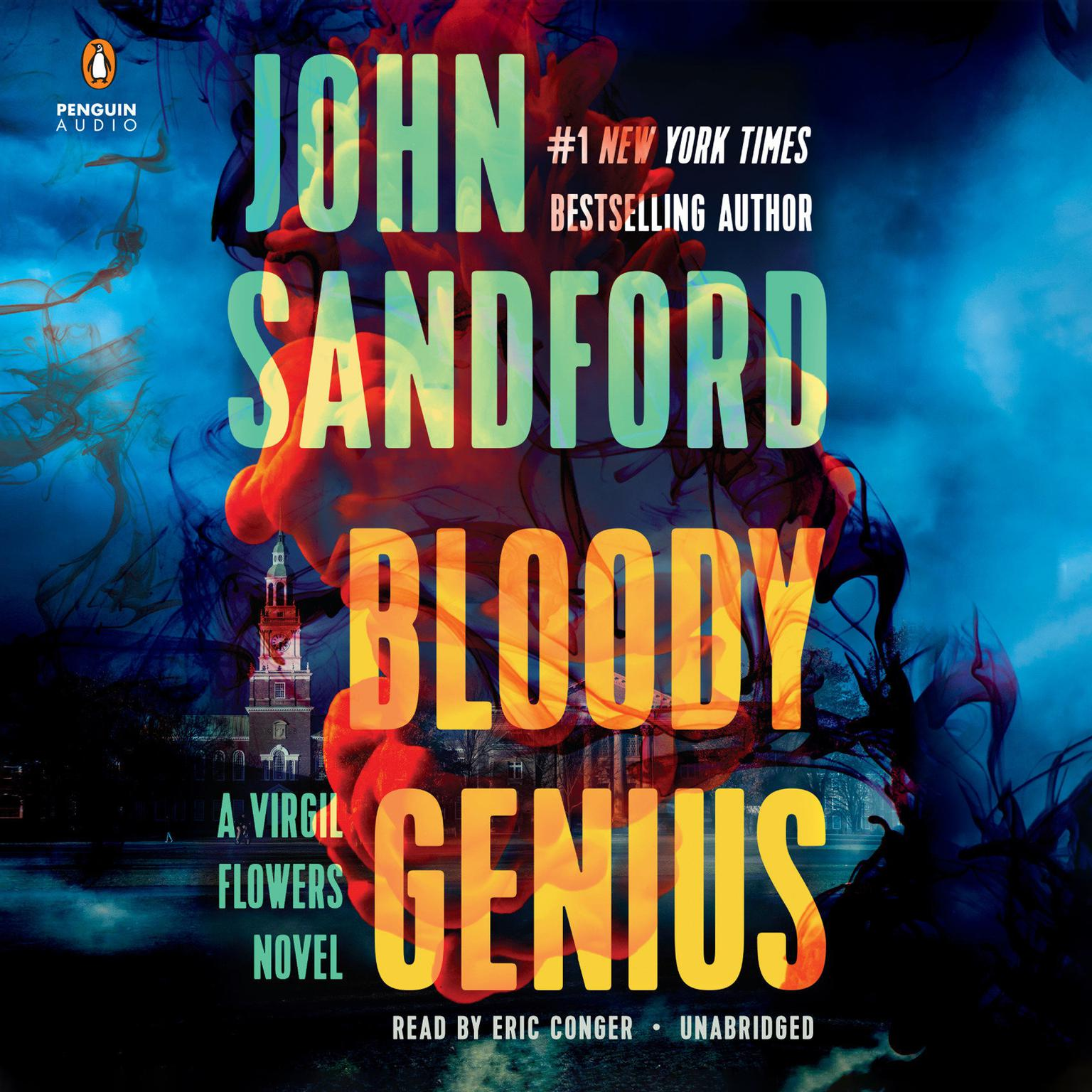 Printable Bloody Genius Audiobook Cover Art