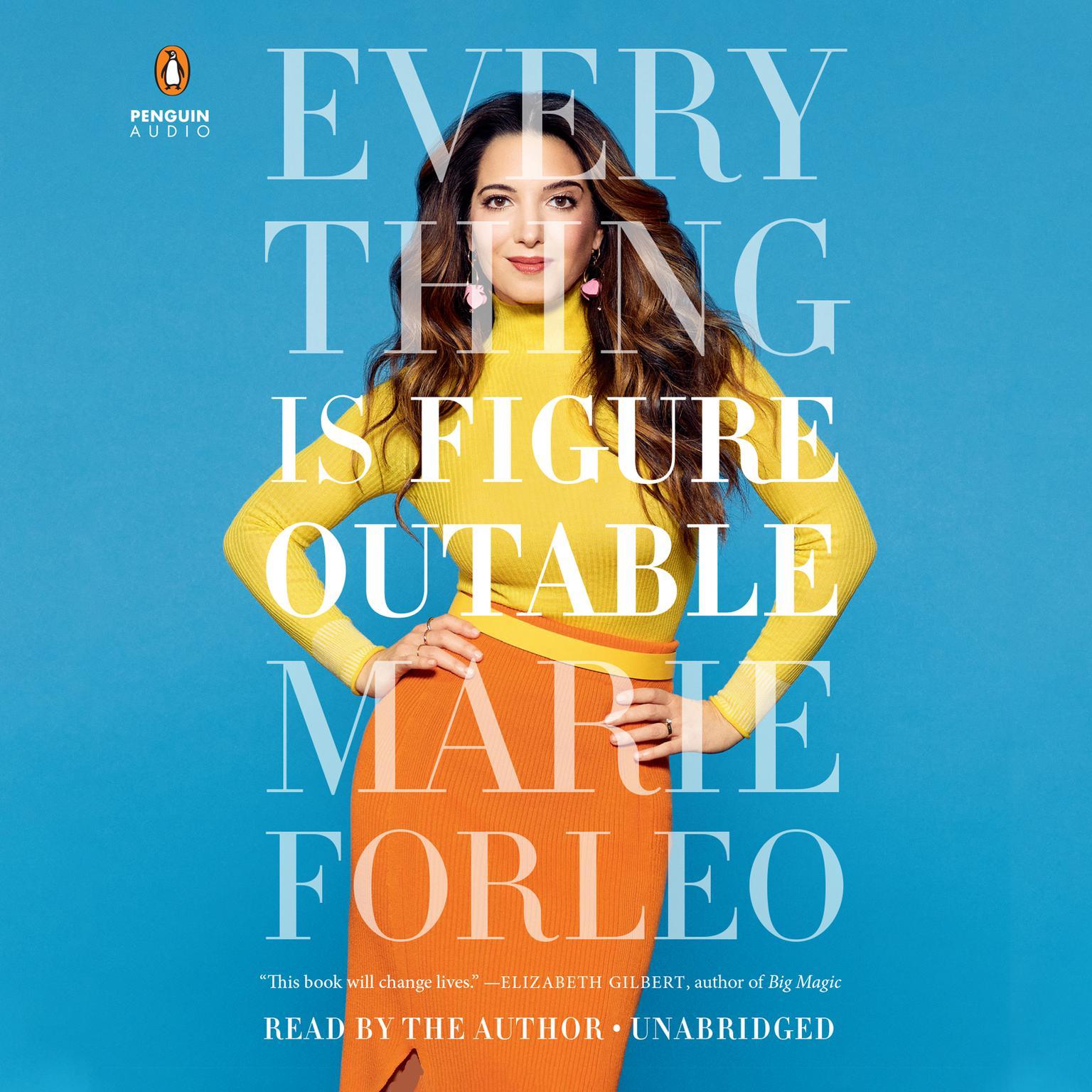 Printable Everything Is Figureoutable Audiobook Cover Art