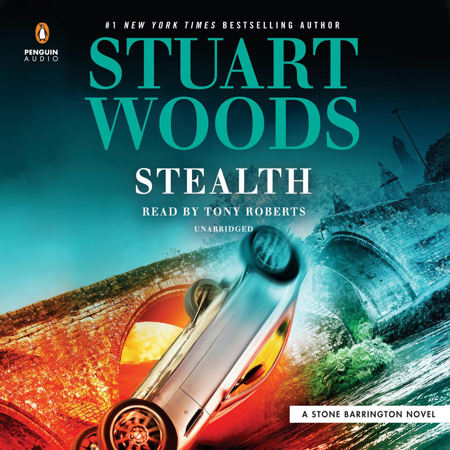 Printable Stealth Audiobook Cover Art