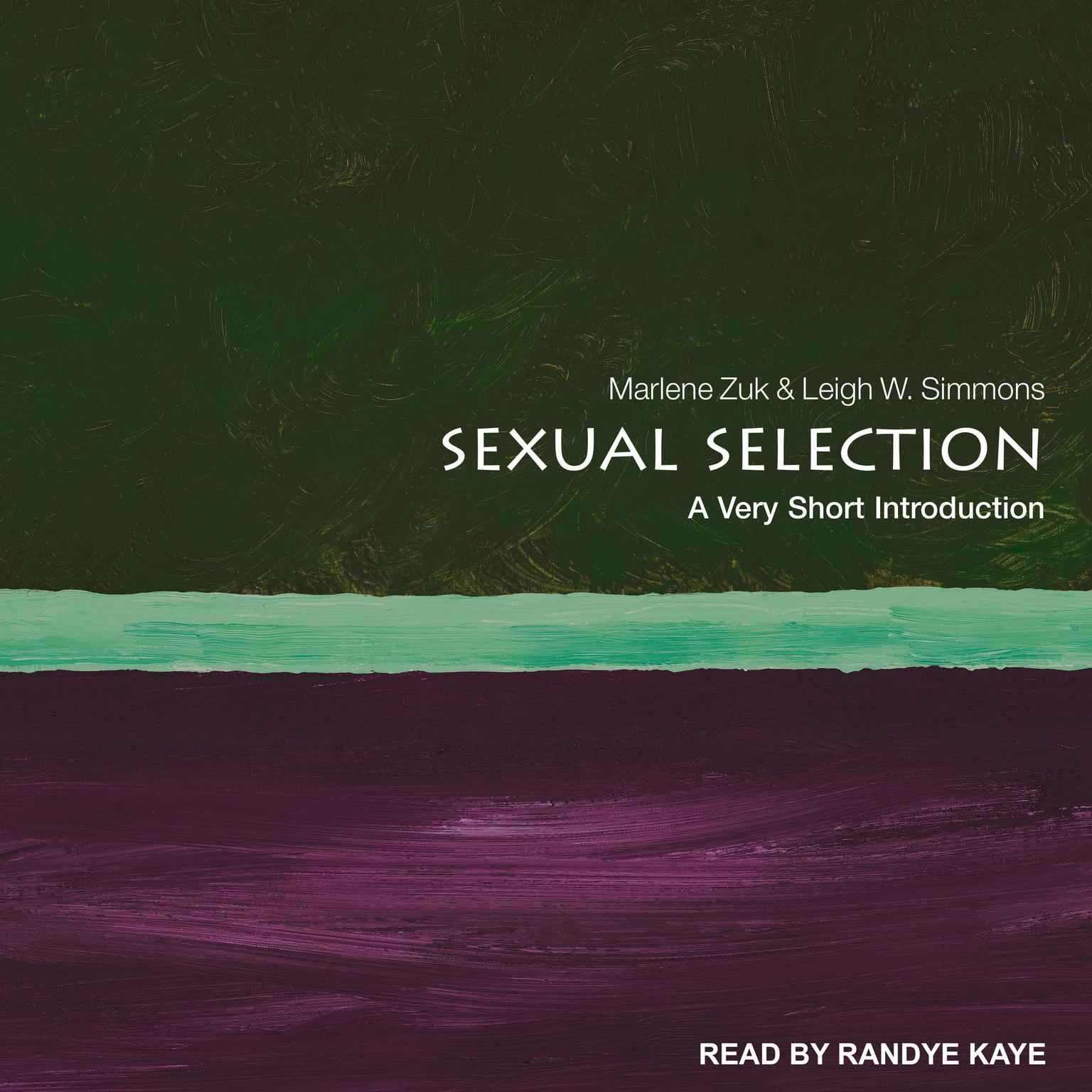 Printable Sexual Selection: A Very Short Introduction Audiobook Cover Art