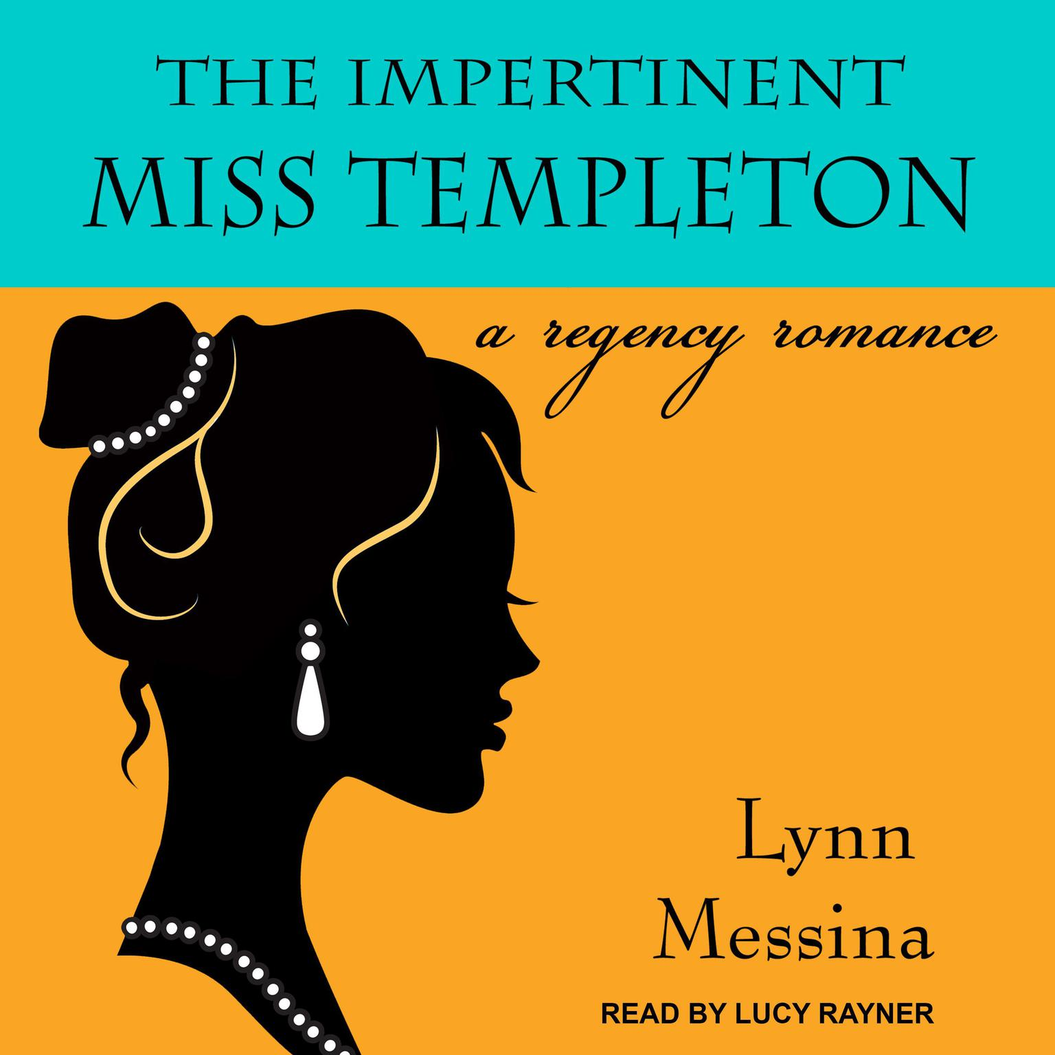 Printable The Impertinent Miss Templeton: A Regency Romance Audiobook Cover Art