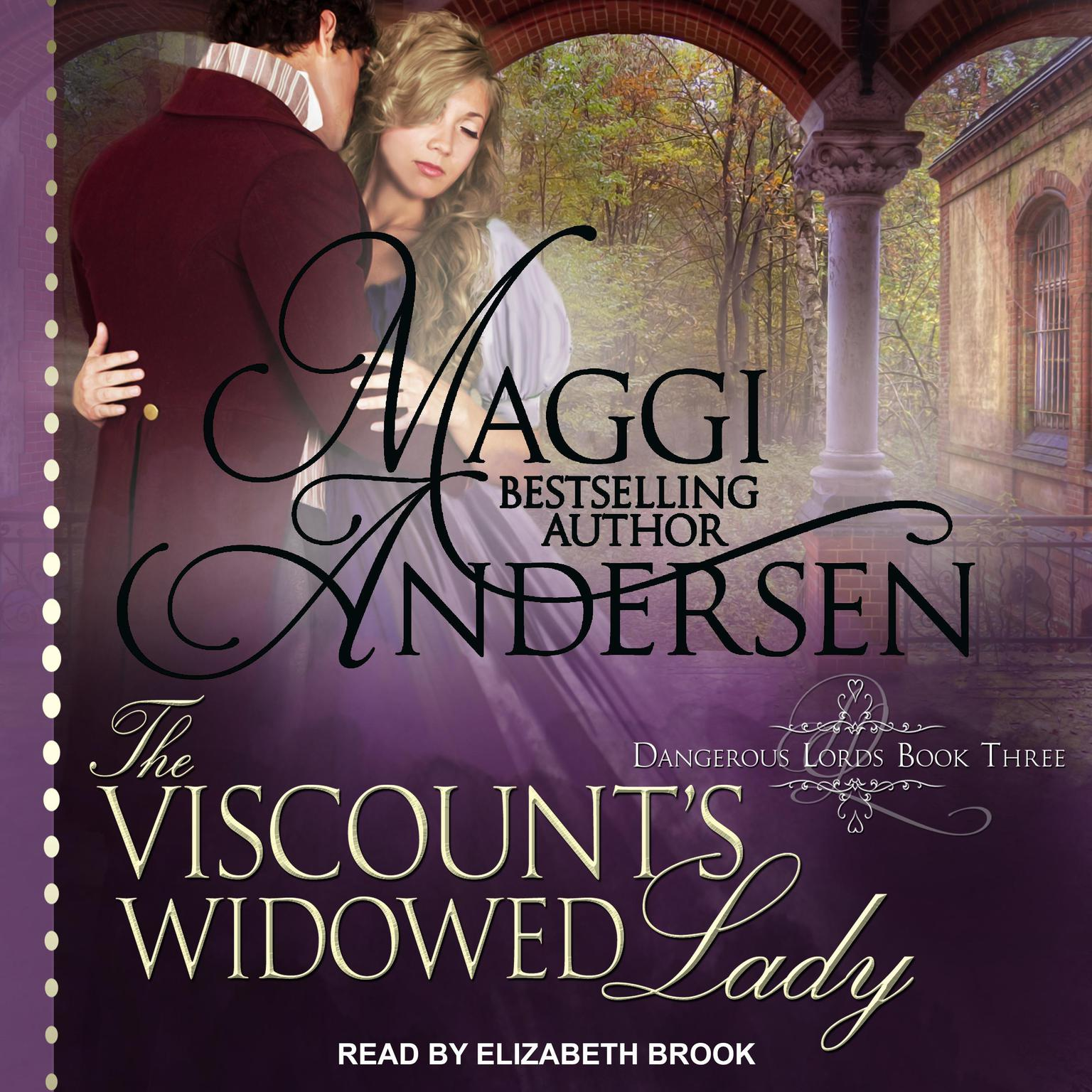Printable The Viscount's Widowed Lady Audiobook Cover Art