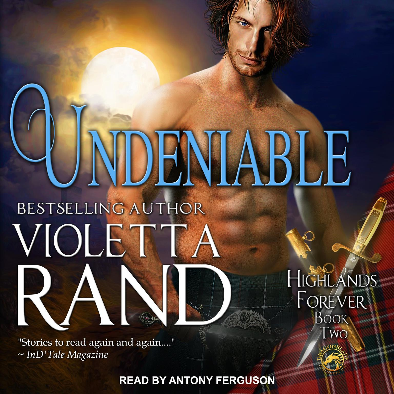 Printable Undeniable Audiobook Cover Art