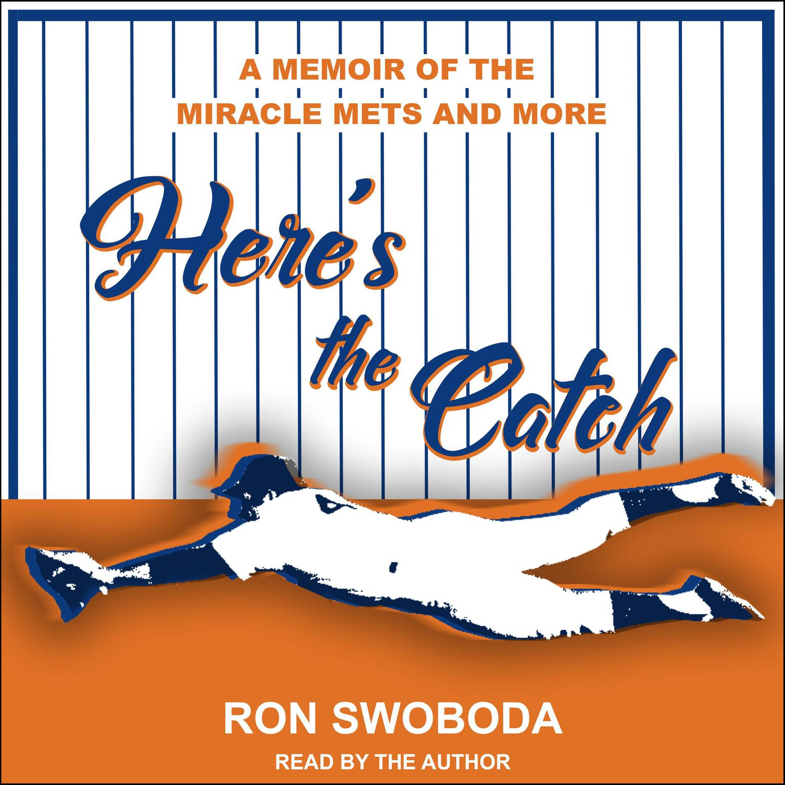 Printable Here's the Catch: A Memoir of the Miracle Mets and More Audiobook Cover Art