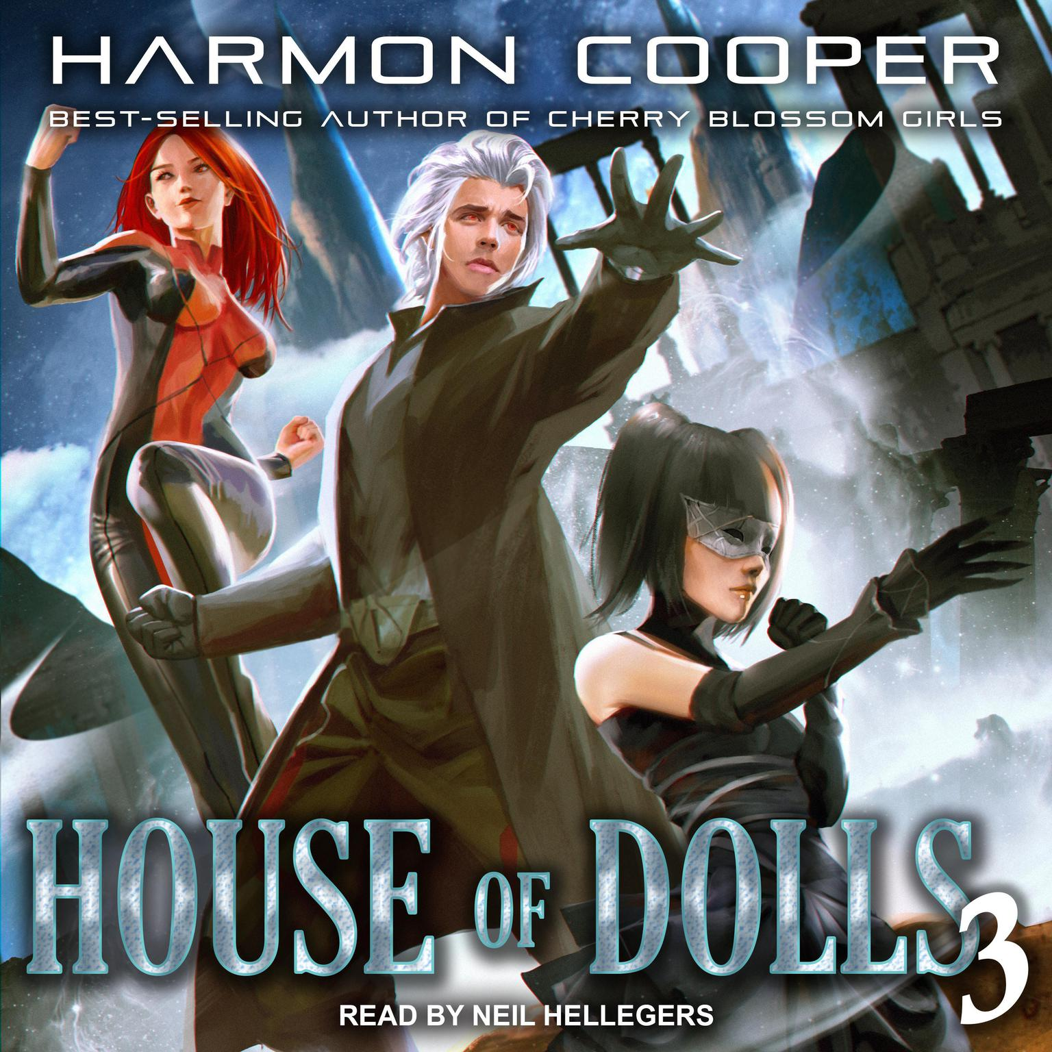 Printable House of Dolls 3 Audiobook Cover Art