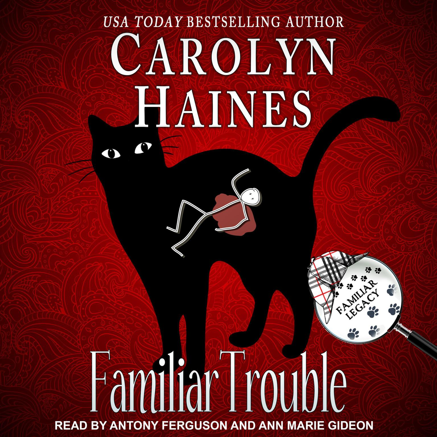 Printable Familiar Trouble Audiobook Cover Art