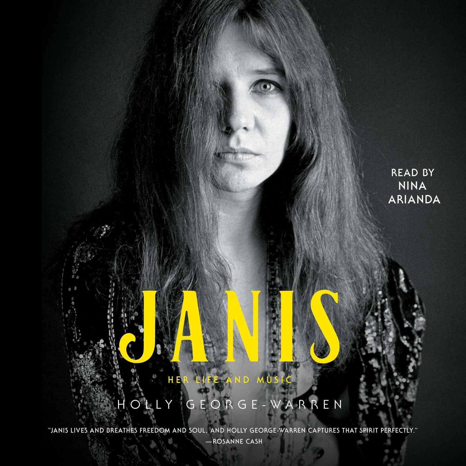 Printable Janis: Her Life and Music Audiobook Cover Art