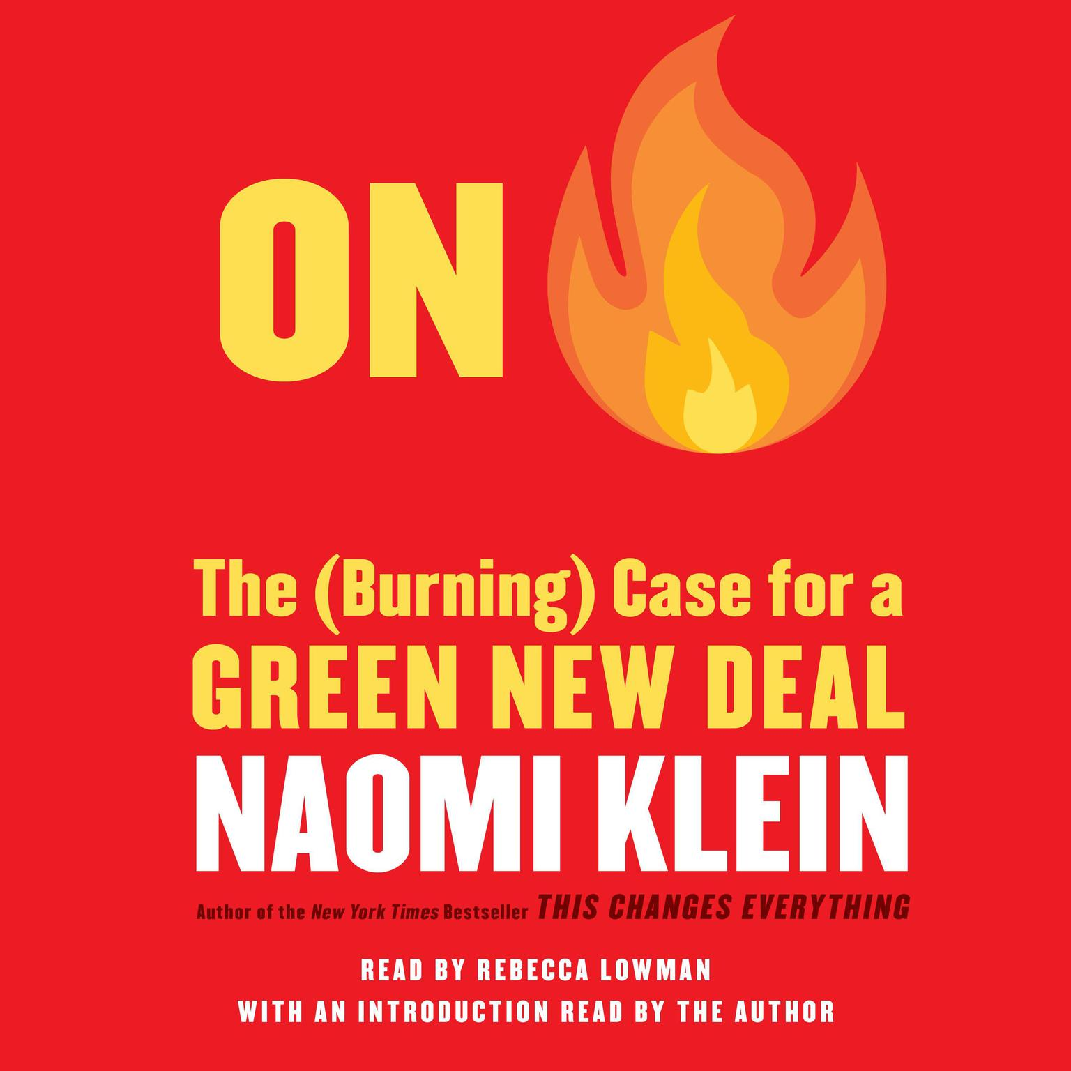 Printable On Fire: The Case for the Green New Deal Audiobook Cover Art