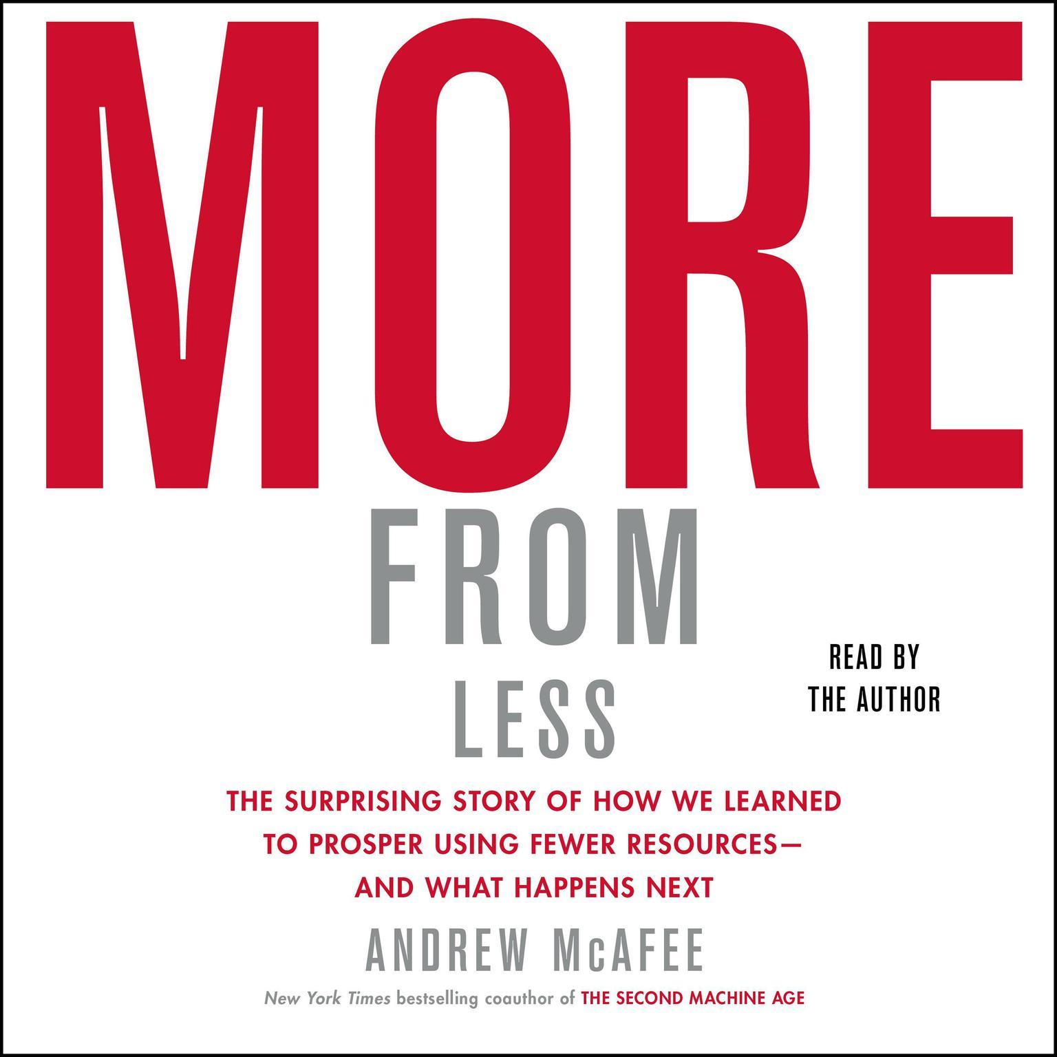 Printable More From Less: How We Learned to Create More Without Using More Audiobook Cover Art