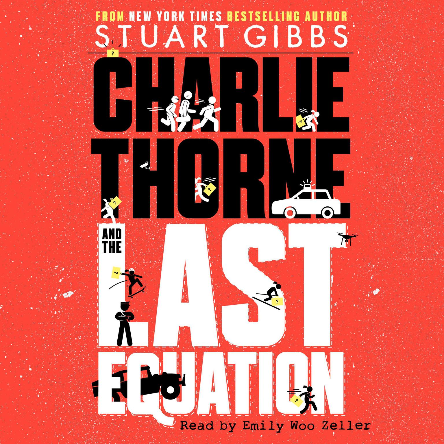 Printable Charlie Thorne and the Last Equation Audiobook Cover Art