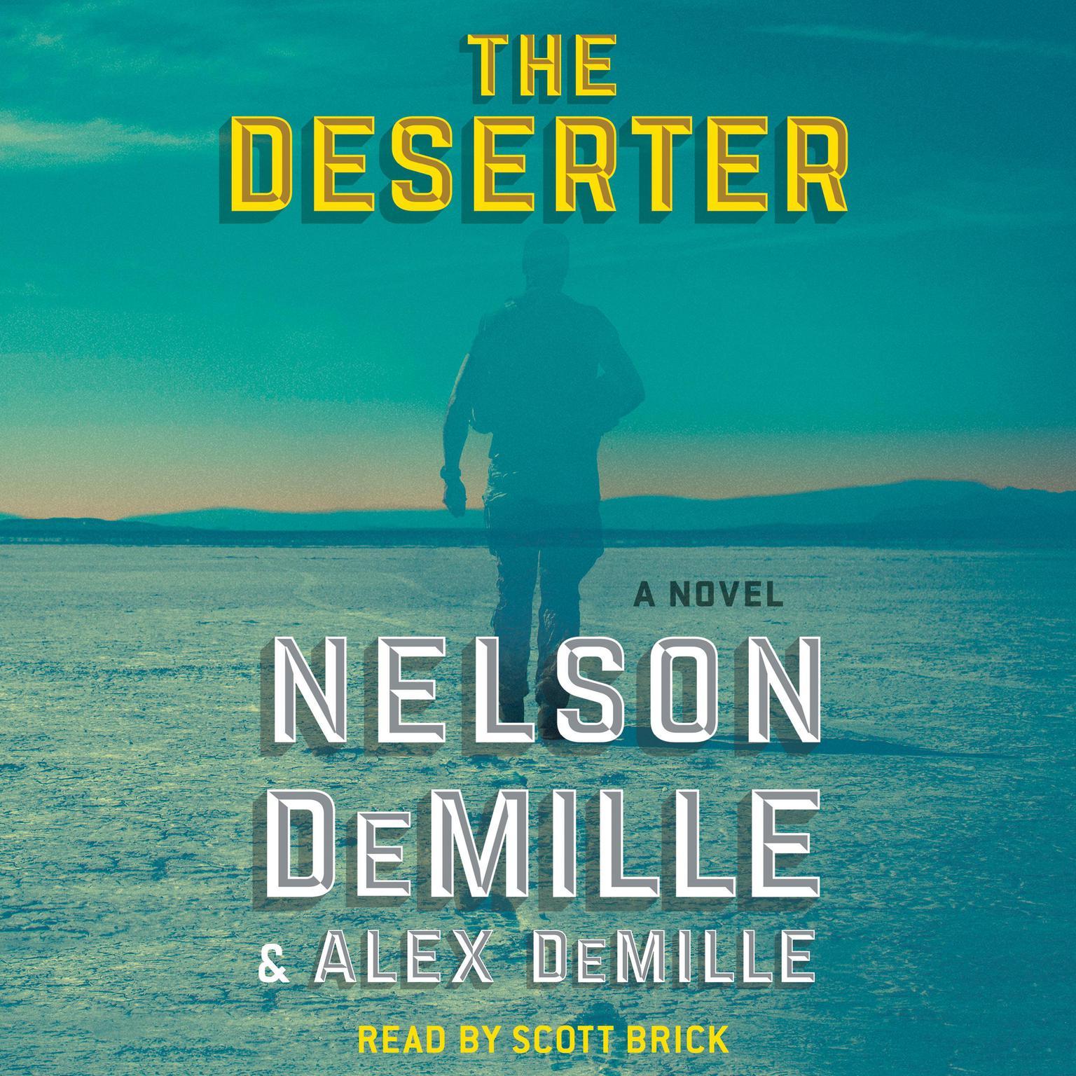 Printable The Deserter: A Novel Audiobook Cover Art