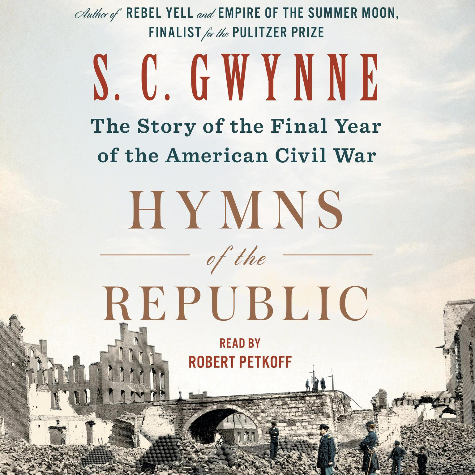 Printable Hymns of the Republic: The Story of the Final Year of the American Civil War Audiobook Cover Art