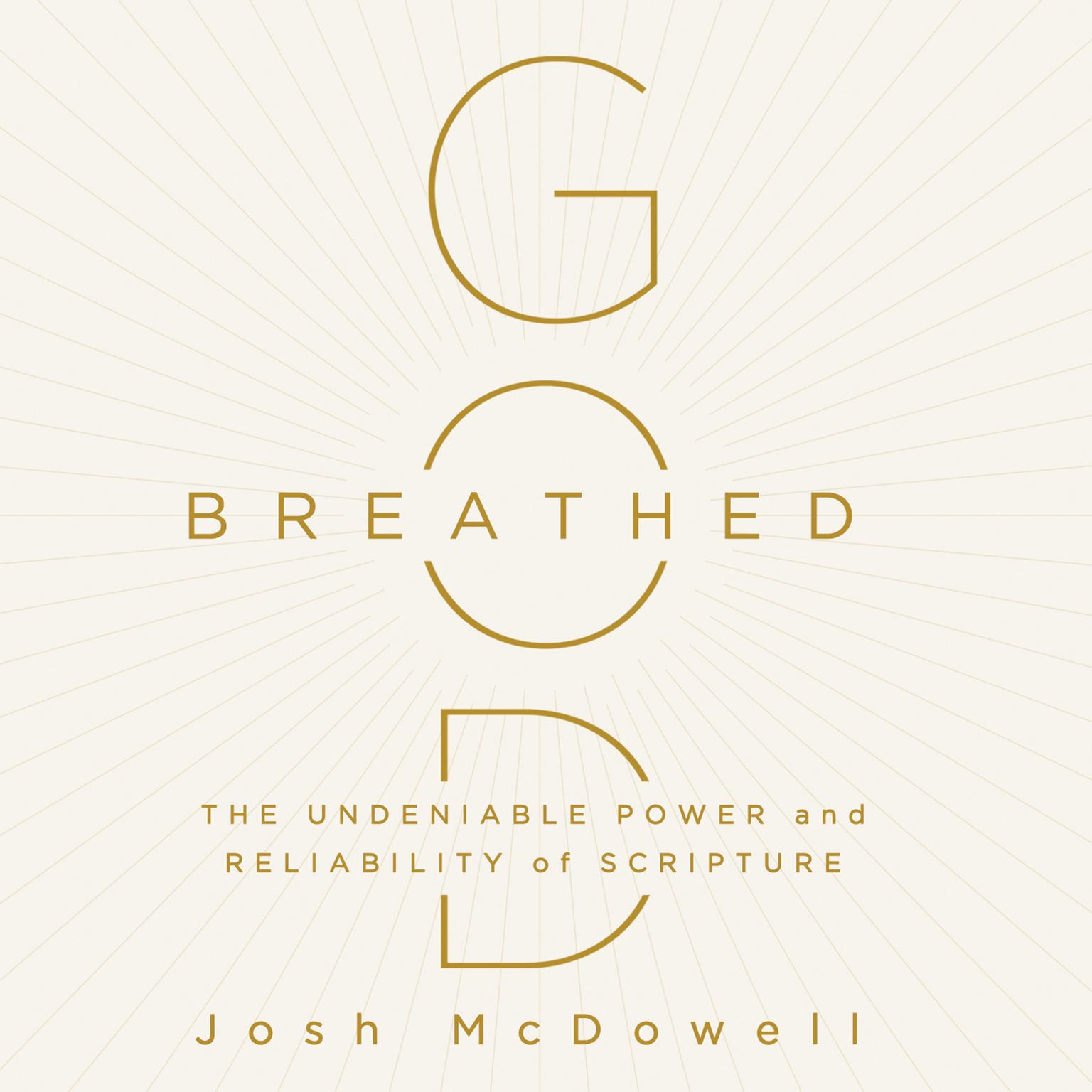 Printable God-Breathed: The Undeniable Power and Reliability of Scripture Audiobook Cover Art