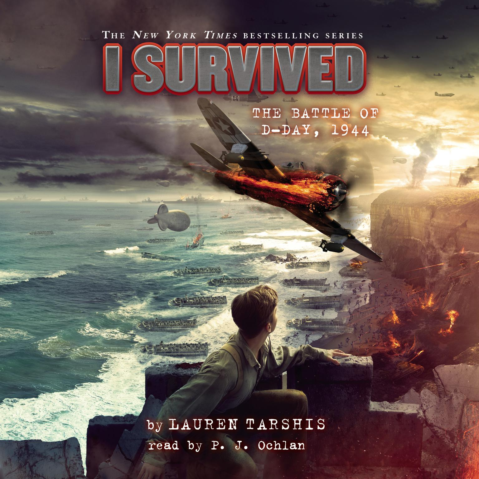 Printable I Survived #18: I Survived the Battle of D-Day, 1944 Audiobook Cover Art