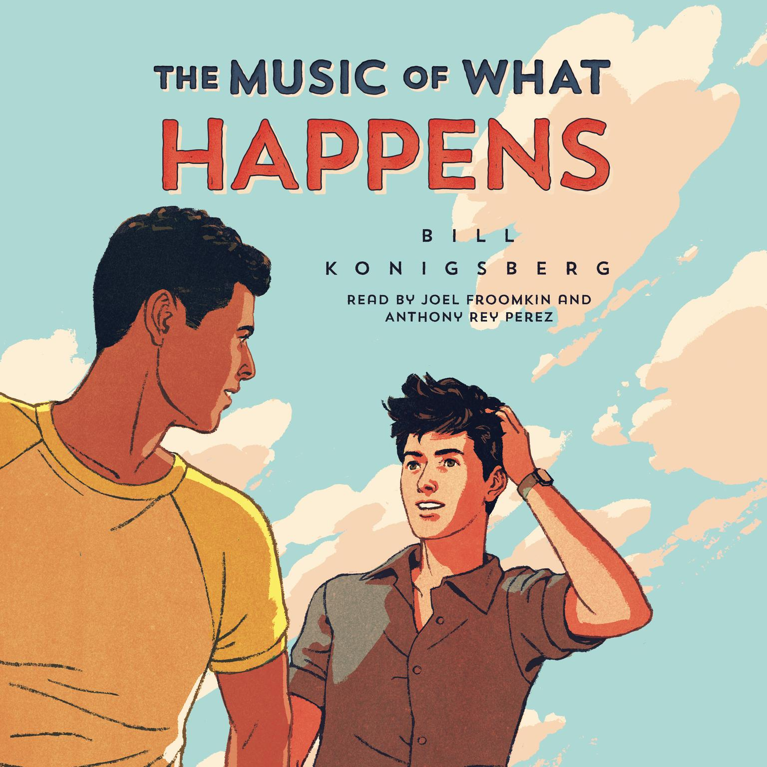 Printable The Music of What Happens Audiobook Cover Art