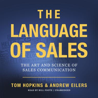 The Language of Sales Audiobook, by Tom Hopkins