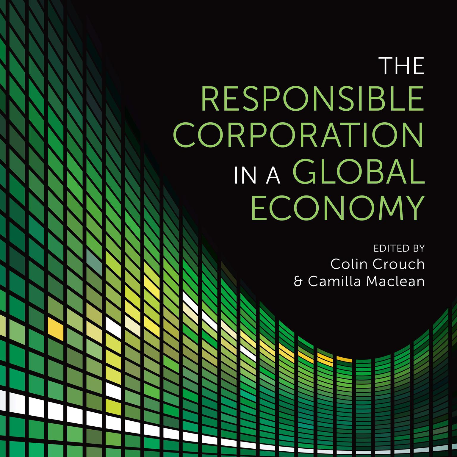 Printable The Responsible Corporation in a Global Economy Audiobook Cover Art