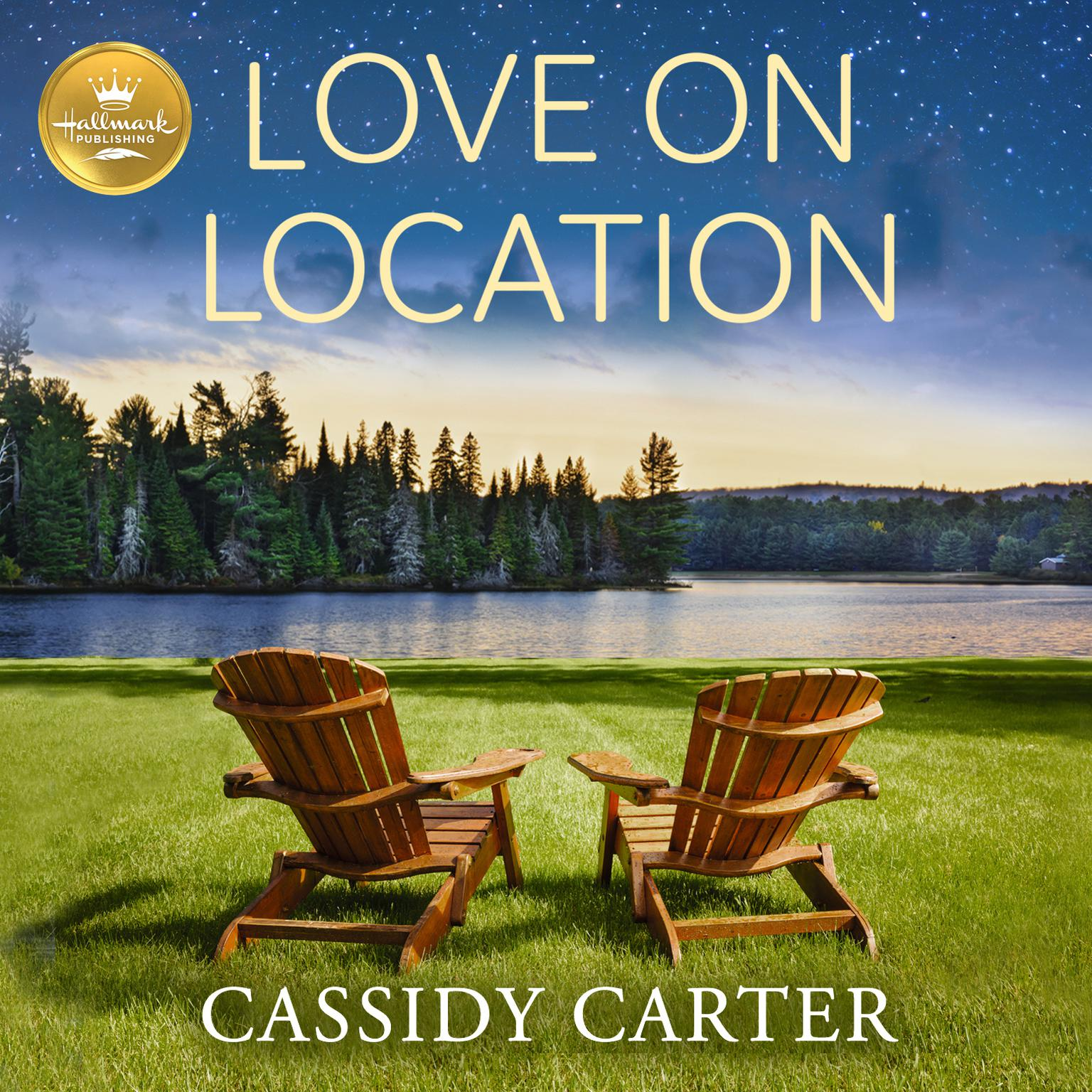 Printable Love On Location Audiobook Cover Art
