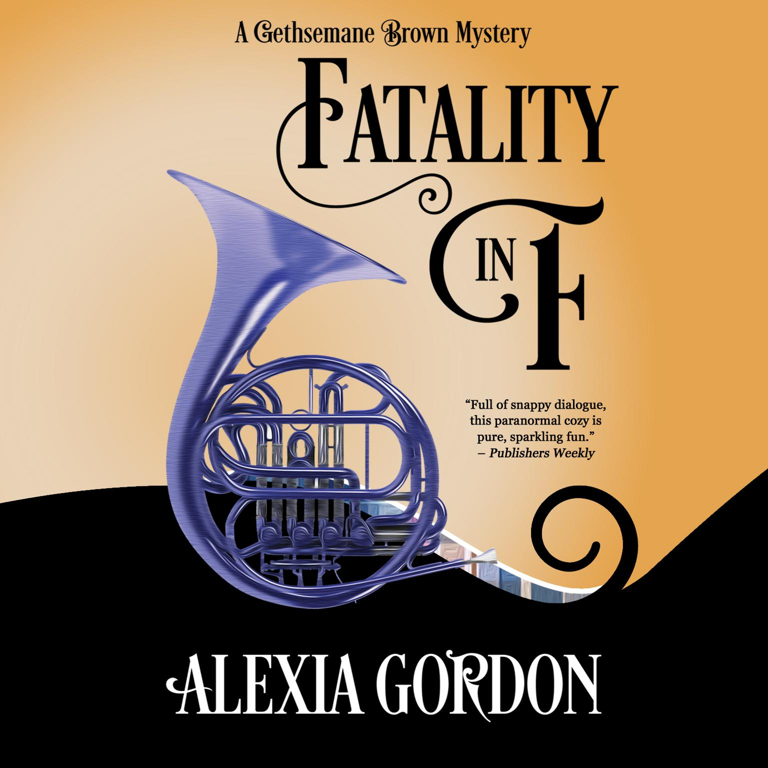 Printable Fatality in F Audiobook Cover Art