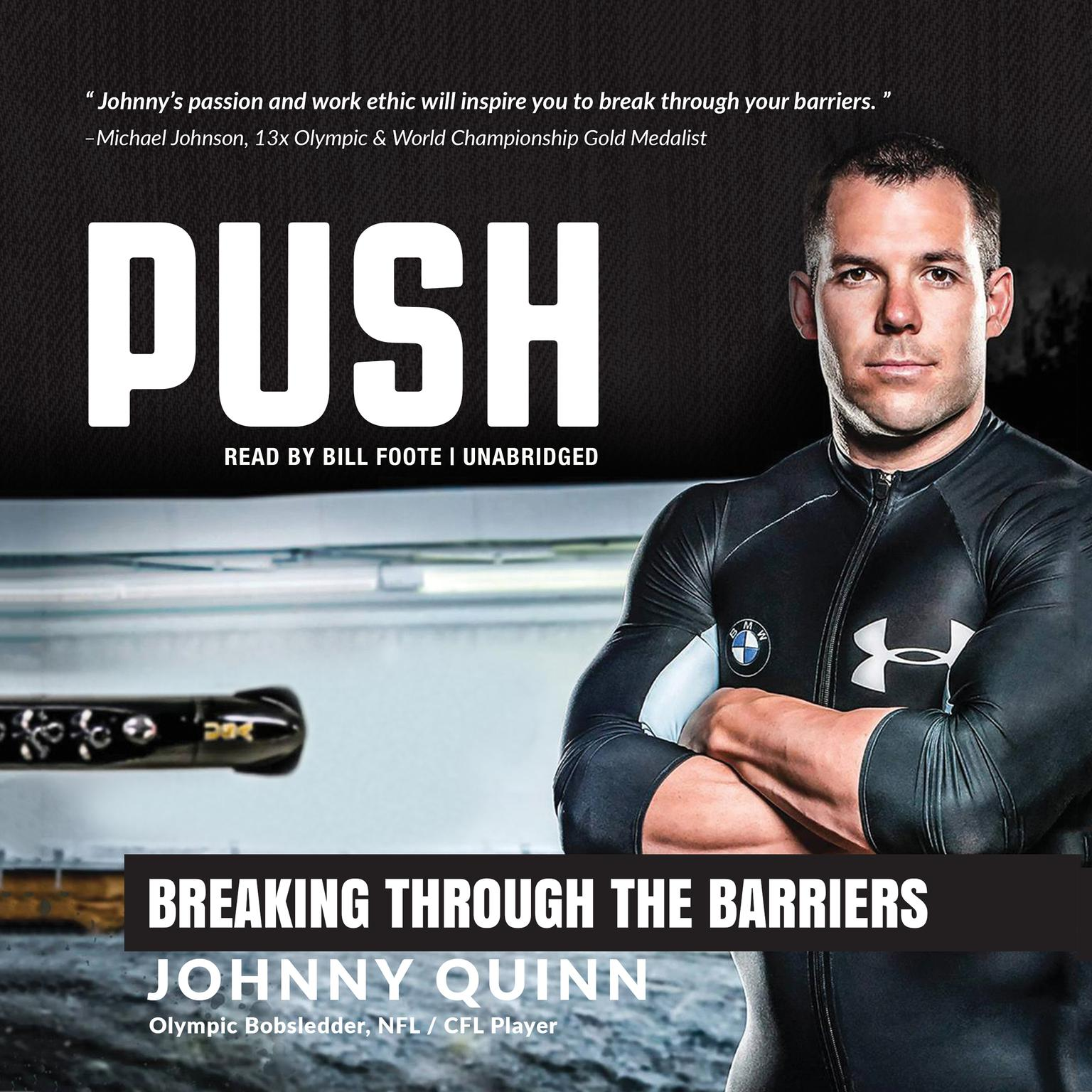 Printable Push: Breaking through the Barriers Audiobook Cover Art