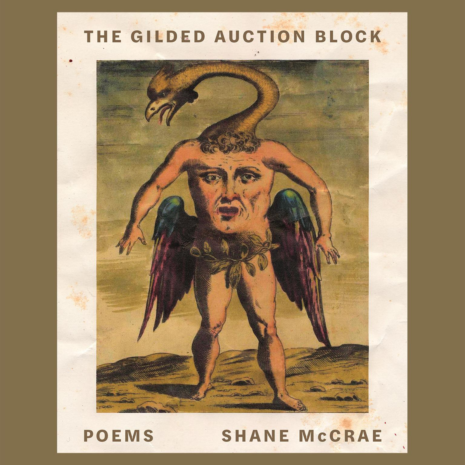 Printable The Gilded Auction Block: Poems Audiobook Cover Art