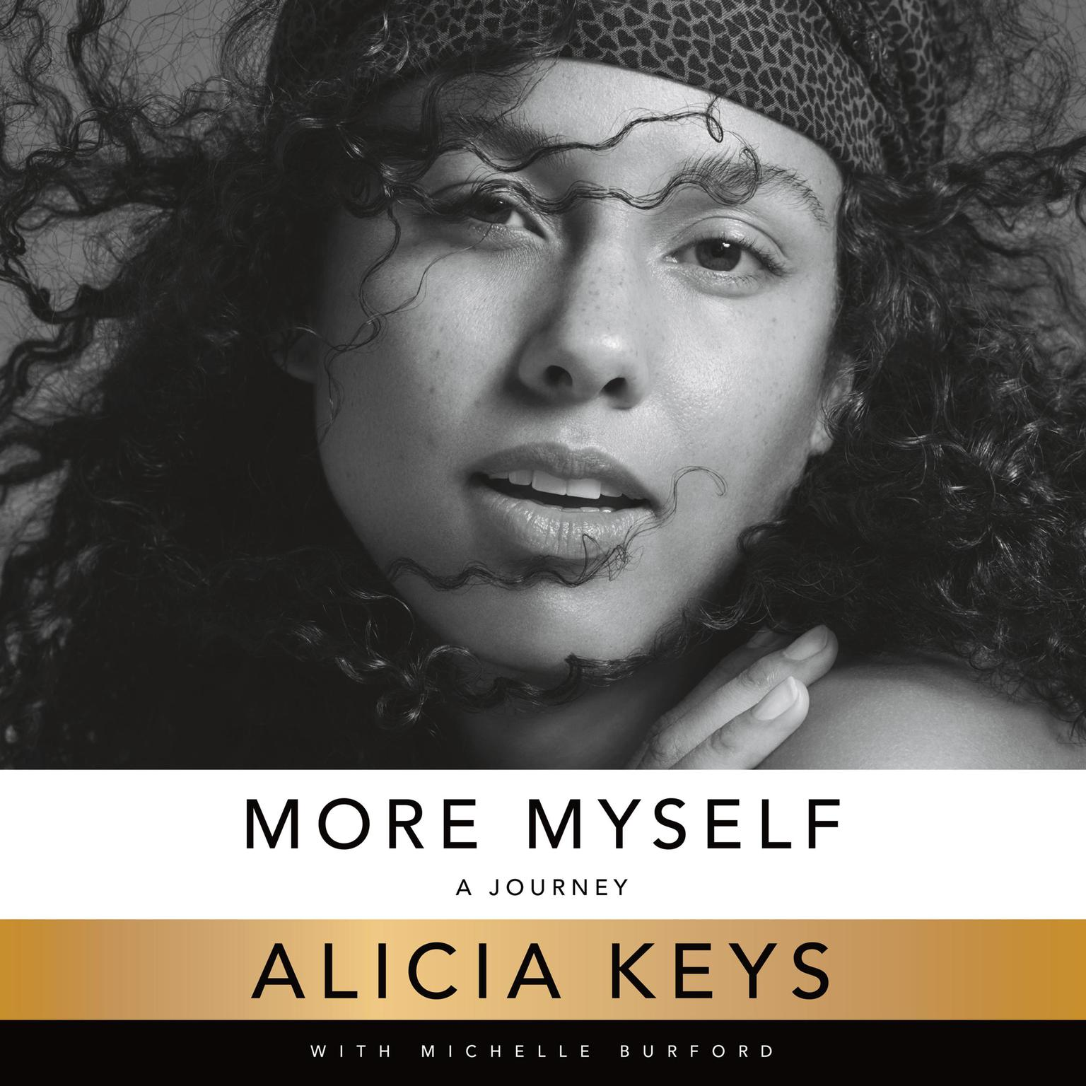 Printable More Myself: A Journey Audiobook Cover Art