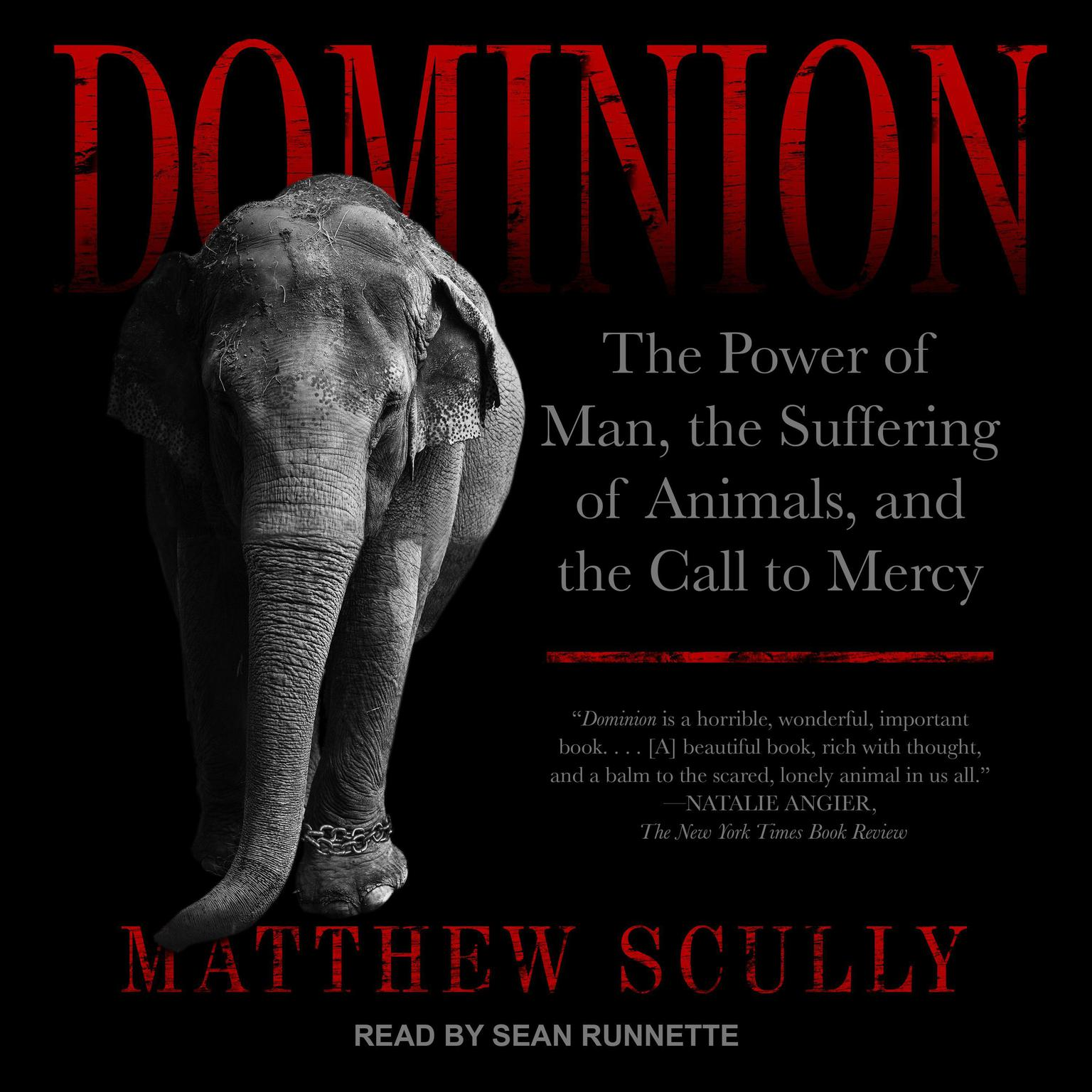 Printable Dominion: The Power of Man, the Suffering of Animals, and the Call to Mercy Audiobook Cover Art