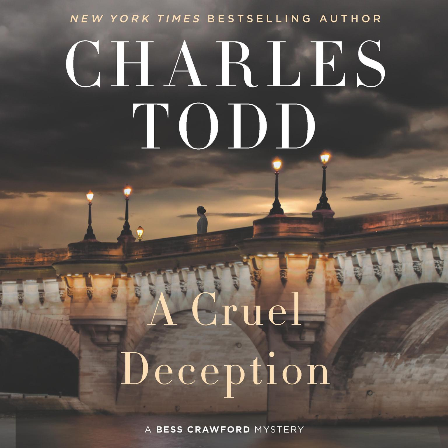 Printable A Cruel Deception: A Bess Crawford Mystery Audiobook Cover Art