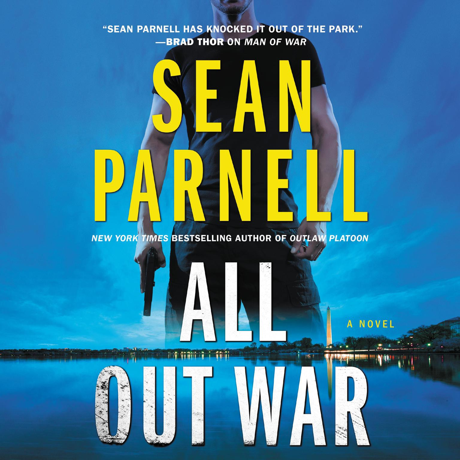 Printable All Out War: A Novel Audiobook Cover Art