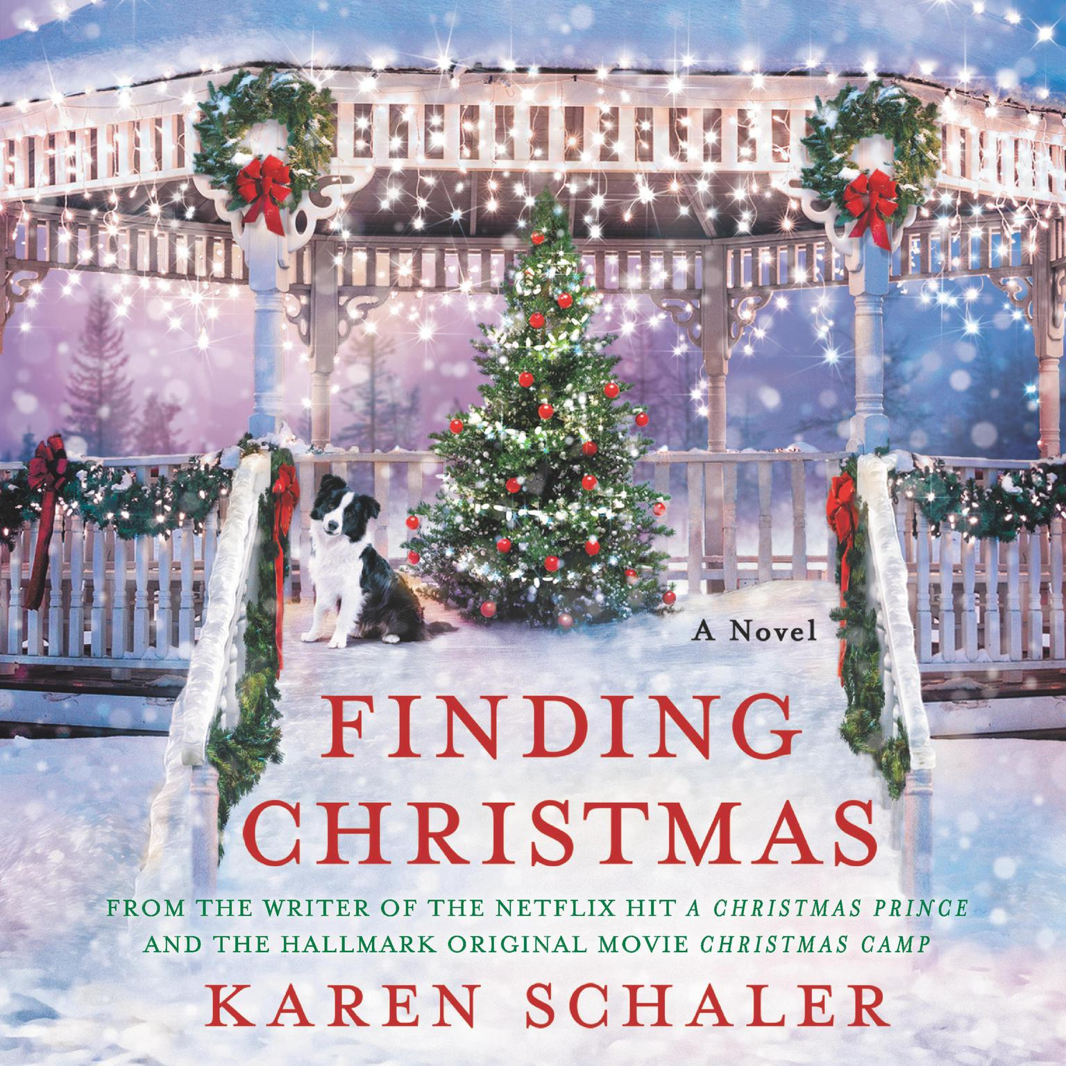 Printable Finding Christmas: A Novel Audiobook Cover Art