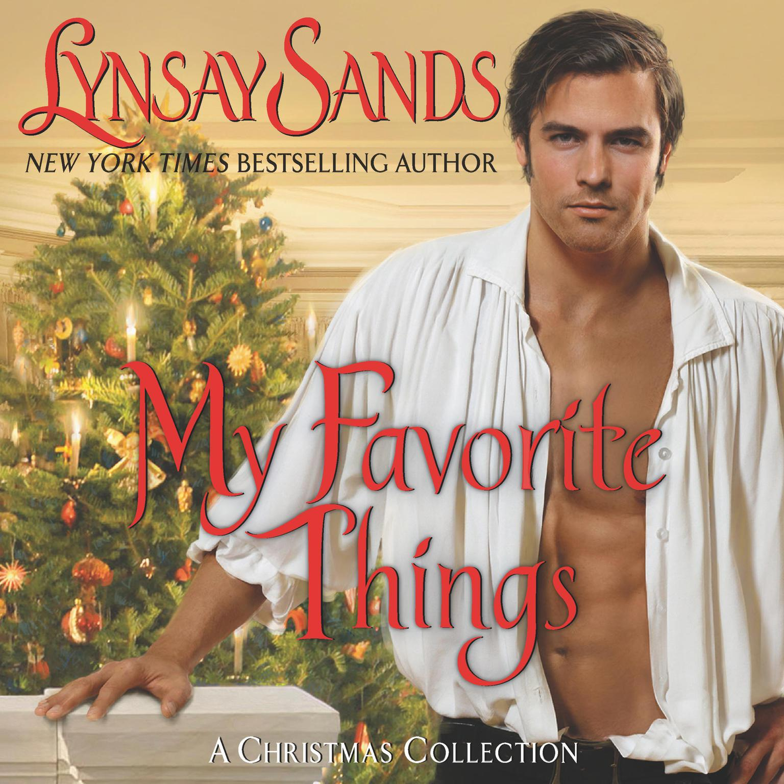 Printable My Favorite Things: A Christmas Collection Audiobook Cover Art