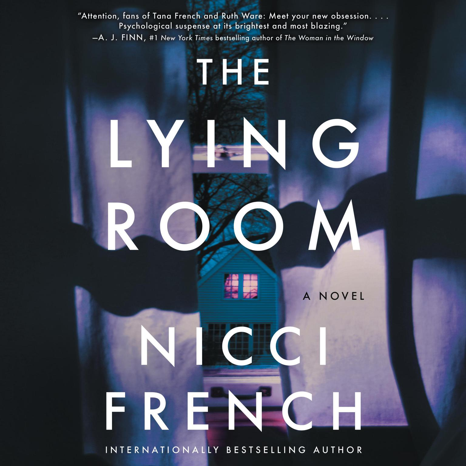 Printable The Lying Room: A Novel Audiobook Cover Art