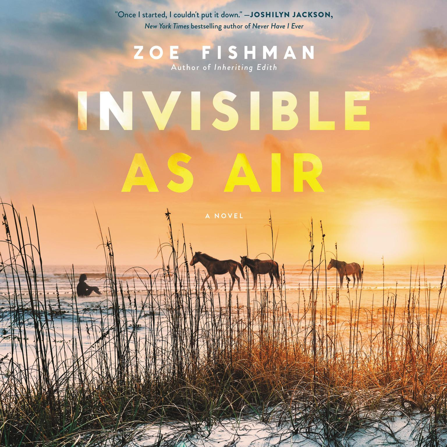 Printable Invisible as Air: A Novel Audiobook Cover Art