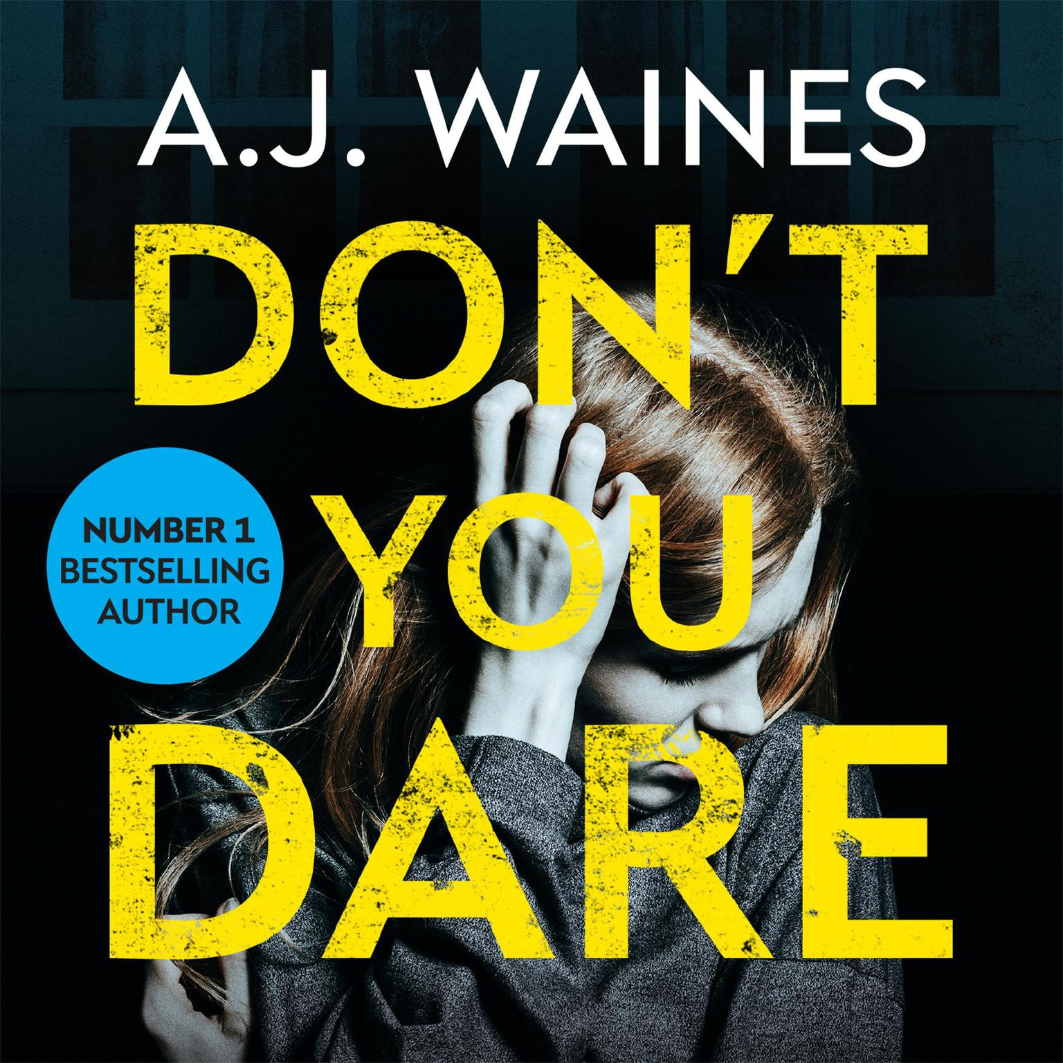 Printable Don't You Dare Audiobook Cover Art