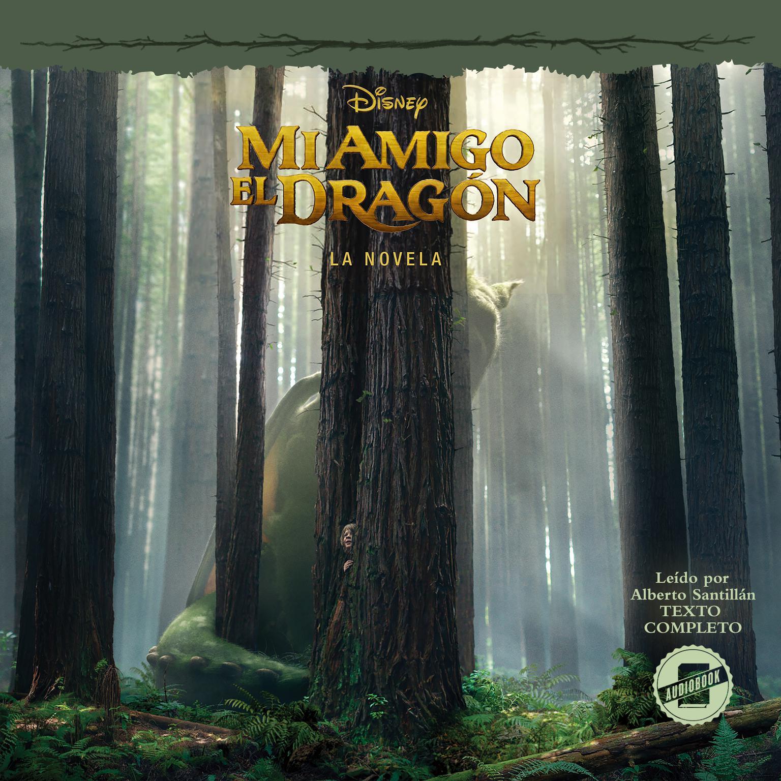 Printable Pete's Dragon (Spanish Edition): La Novela Audiobook Cover Art