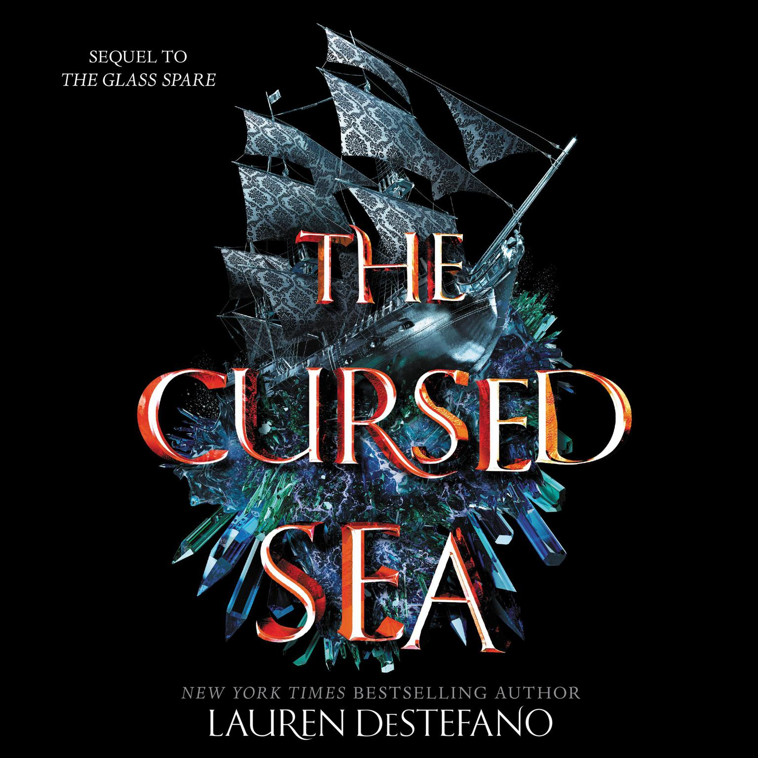 Printable The Cursed Sea Audiobook Cover Art