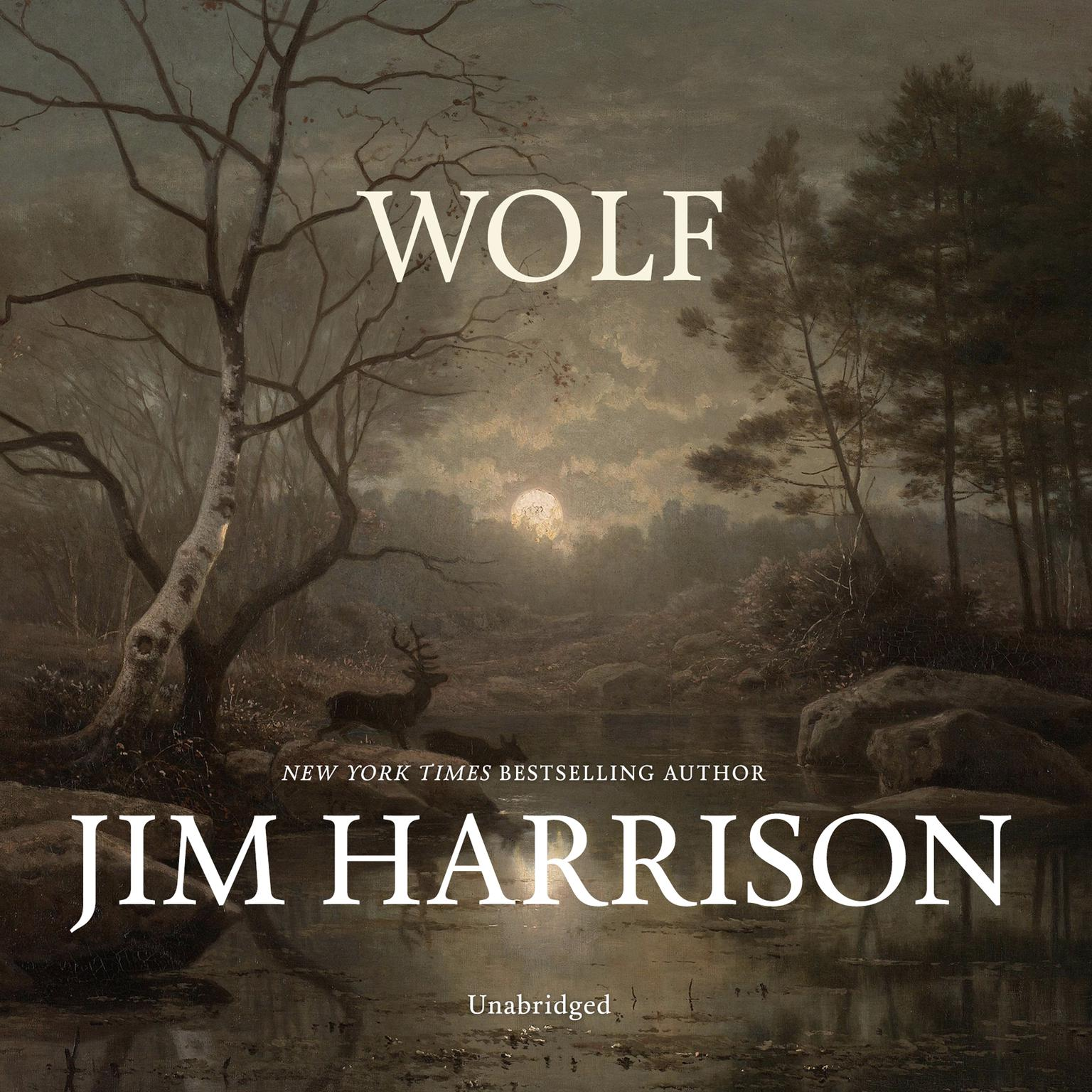 Printable Wolf Audiobook Cover Art
