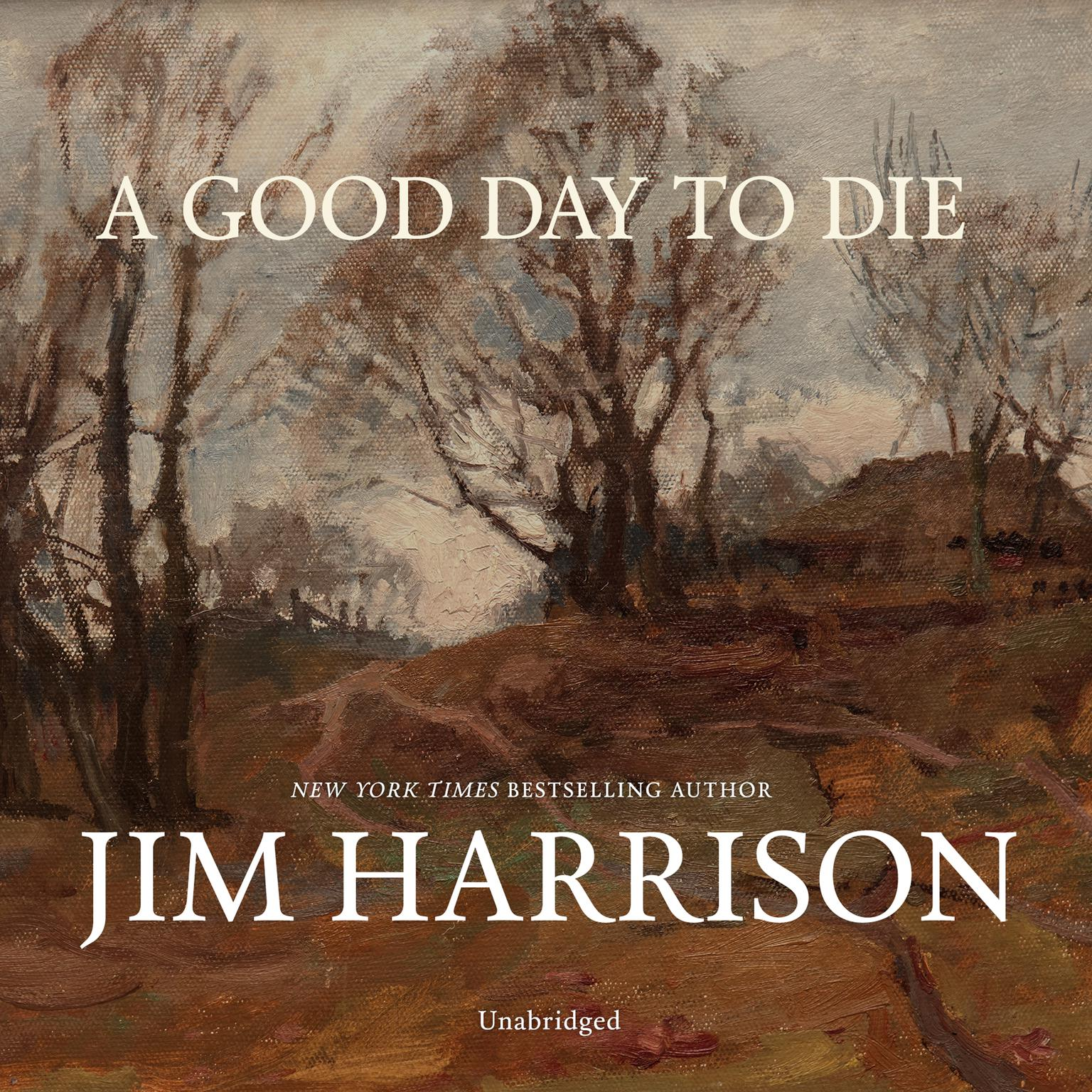 Printable A Good Day to Die Audiobook Cover Art
