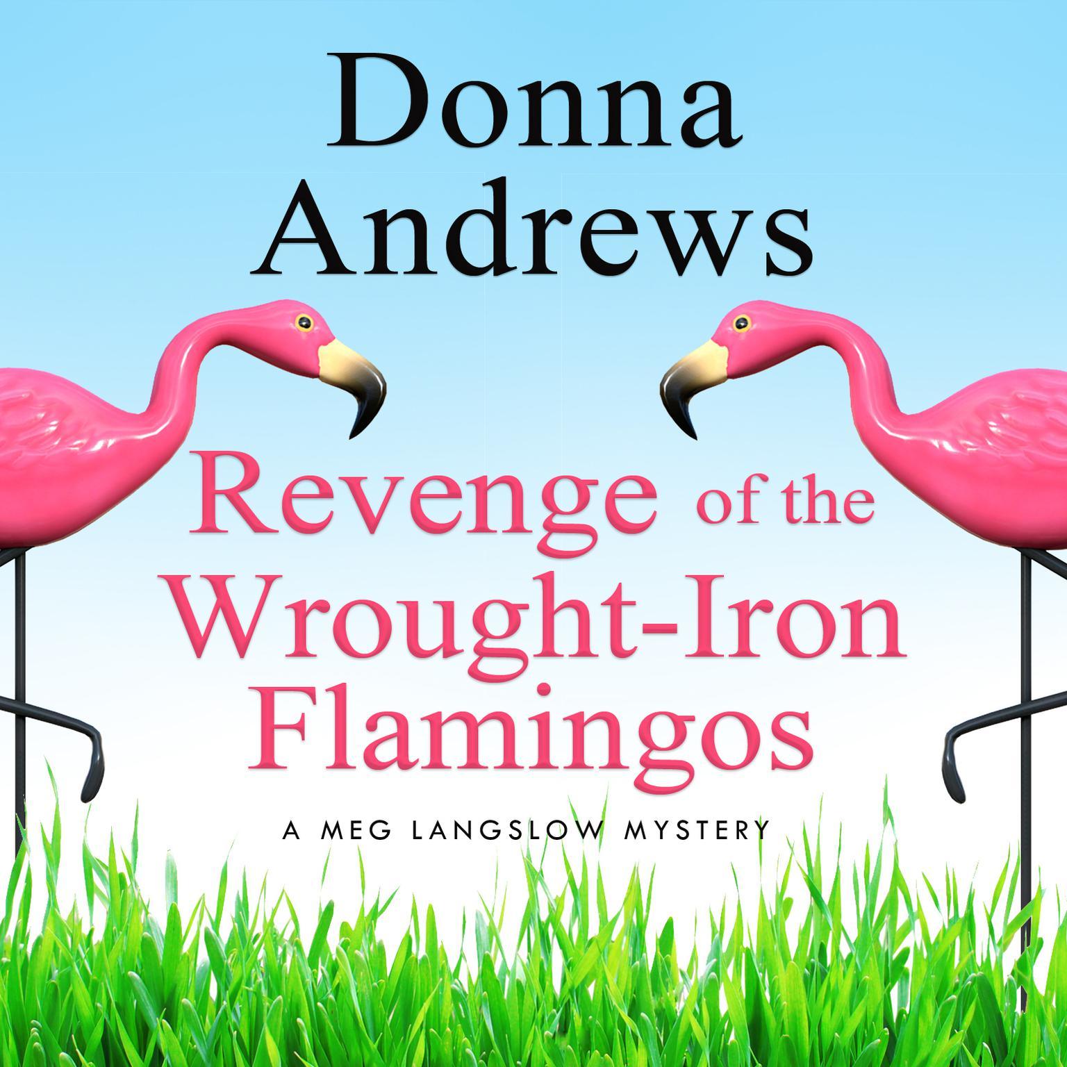 Printable Revenge of the Wrought-Iron Flamingos Audiobook Cover Art