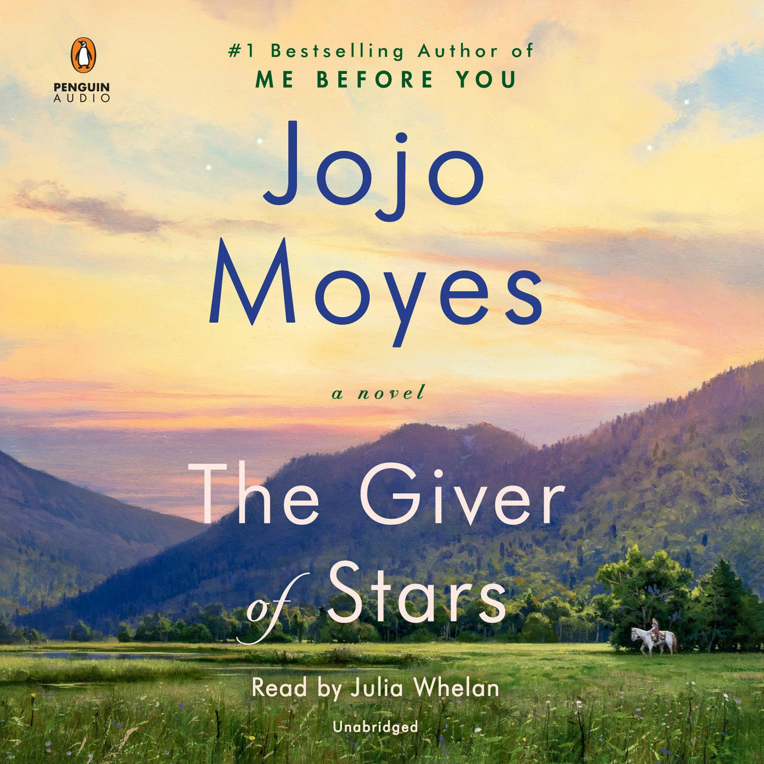 Printable The Giver of Stars: A Novel Audiobook Cover Art