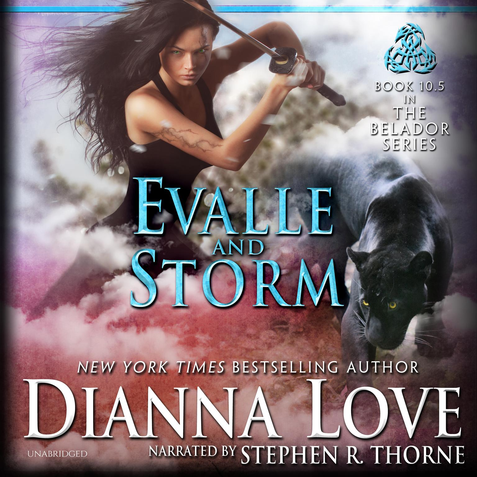 Printable Evalle and Storm Audiobook Cover Art