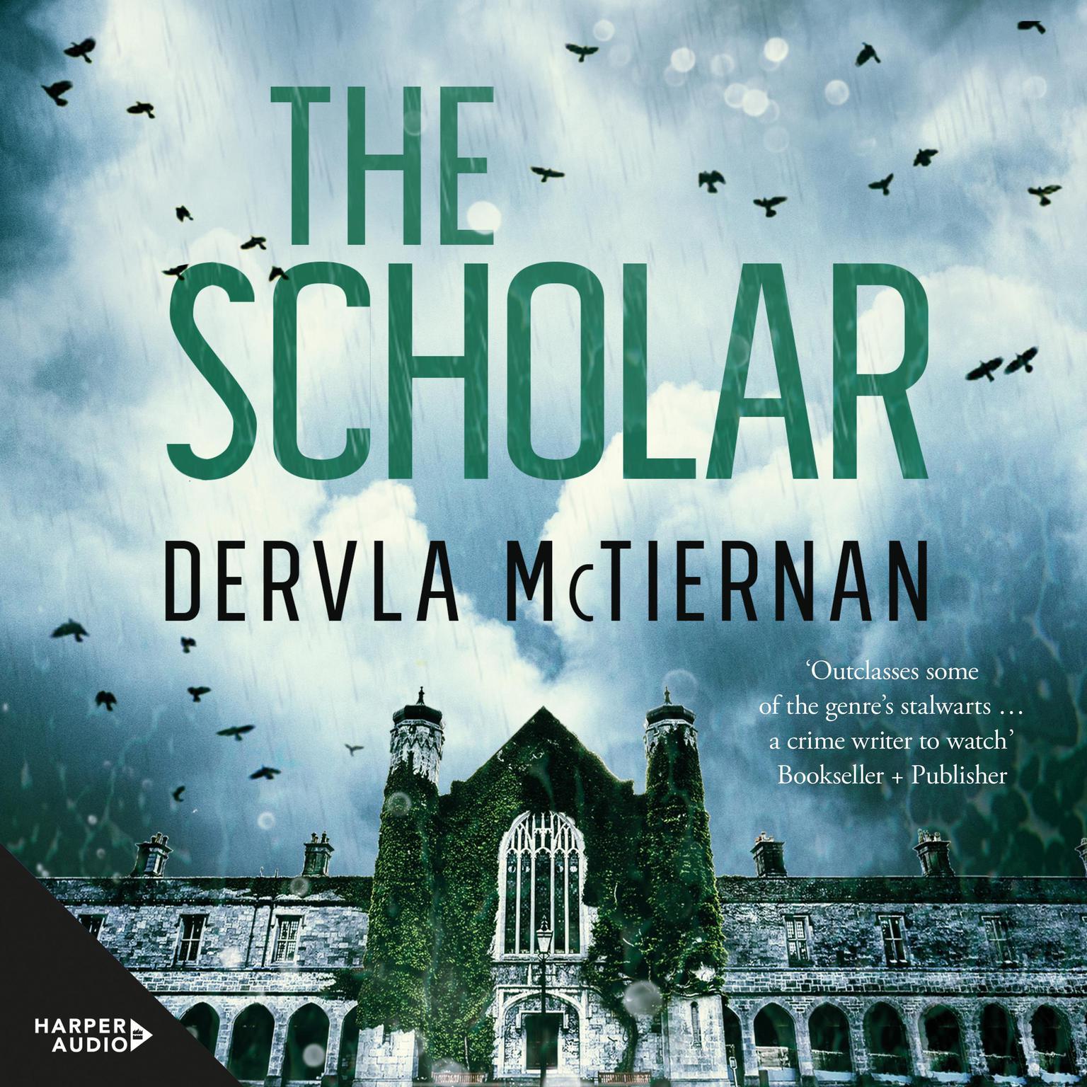 Printable The Scholar Audiobook Cover Art