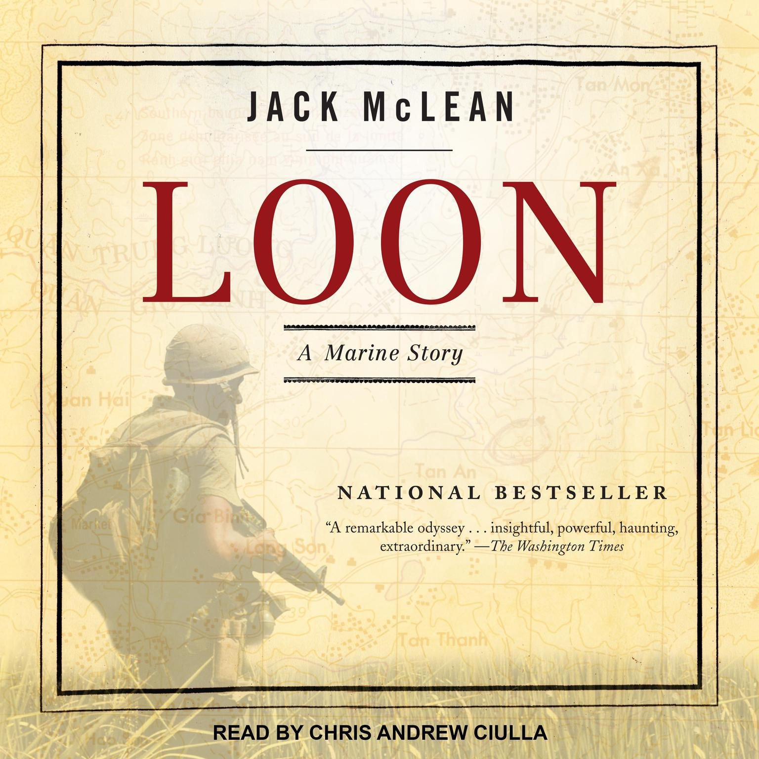 Printable Loon: A Marine Story Audiobook Cover Art