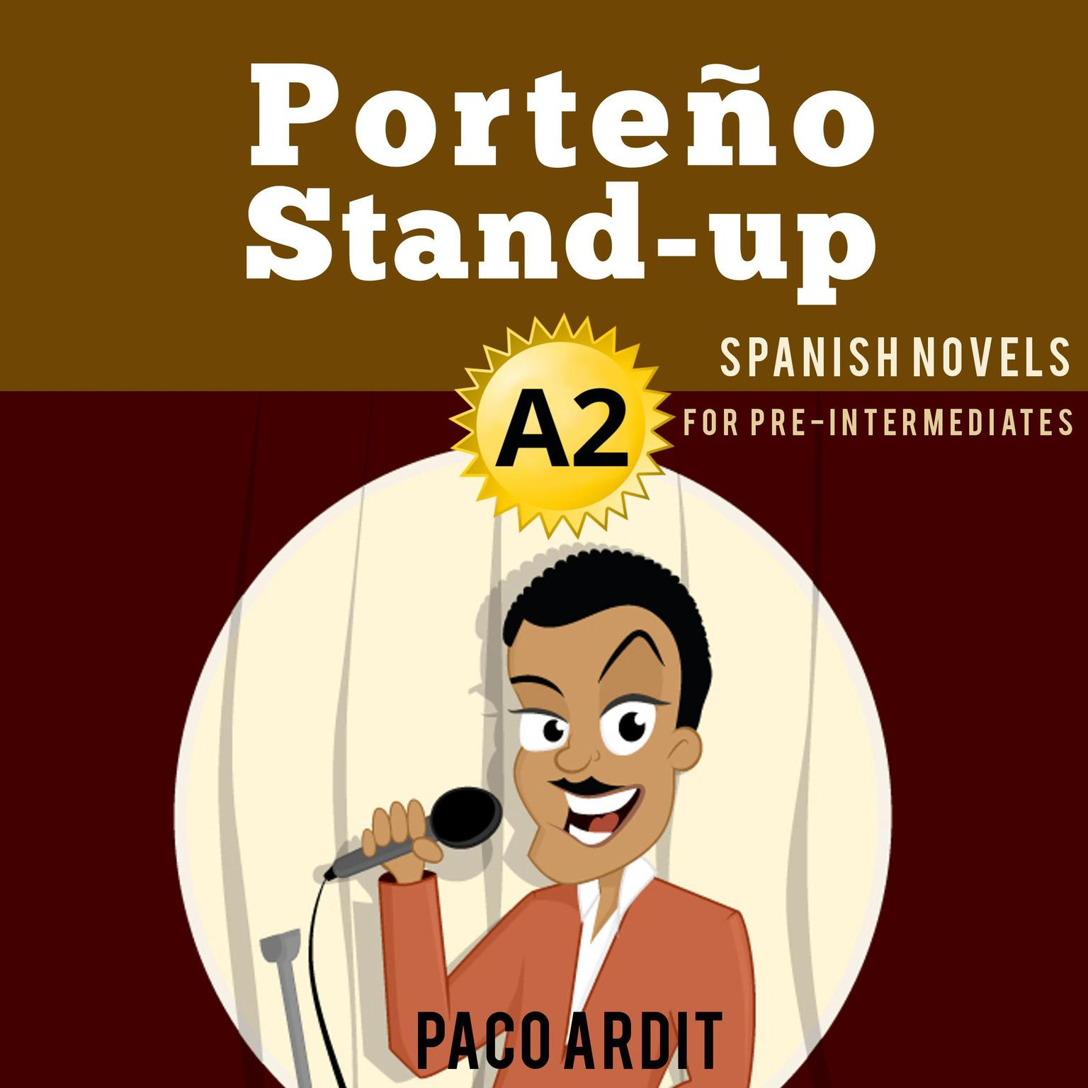 Printable Porteño Stand-up Audiobook Cover Art
