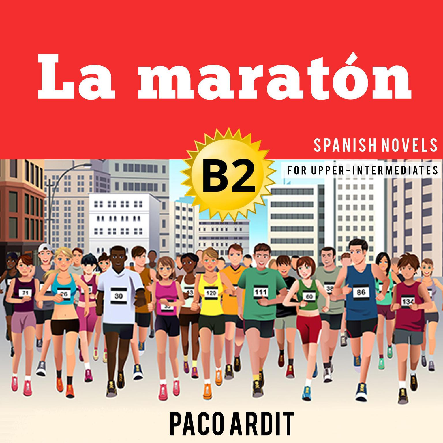 Printable La maratón Audiobook Cover Art
