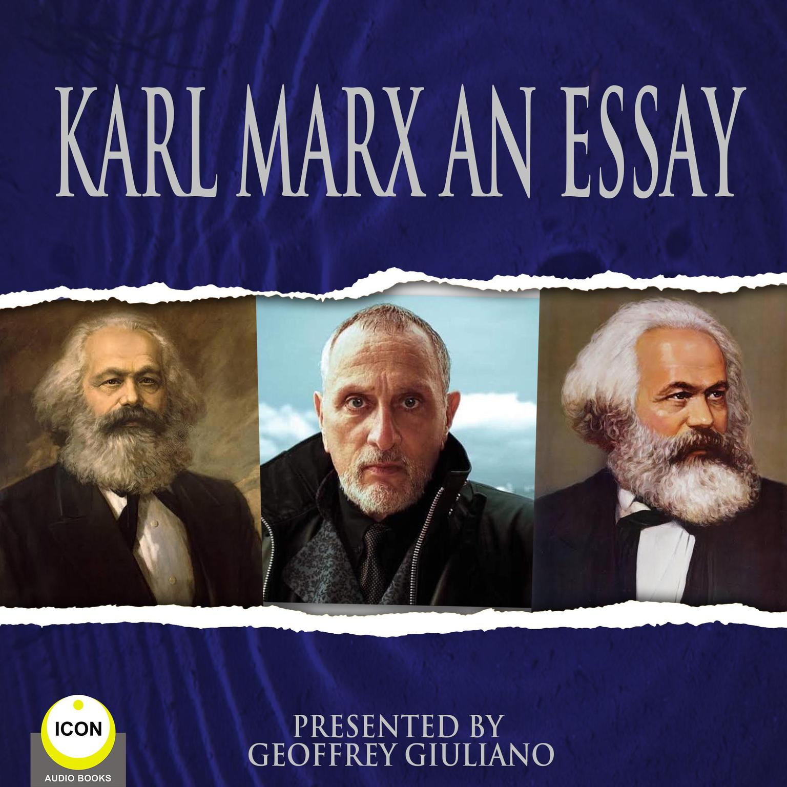 Printable Karl Marx An Essay Audiobook Cover Art
