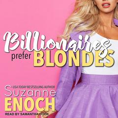 Billionaires Prefer Blondes Audiobook, by Suzanne Enoch