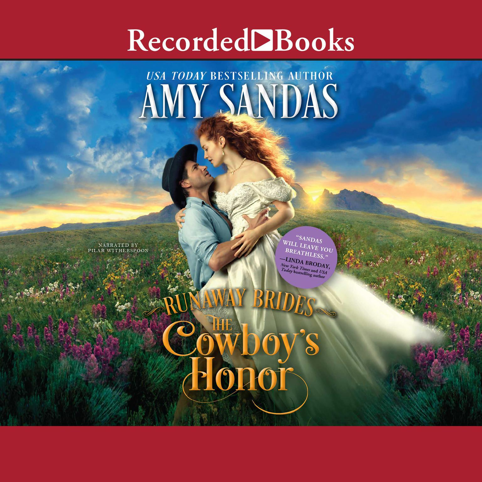 Printable Cowboy's Honor Audiobook Cover Art